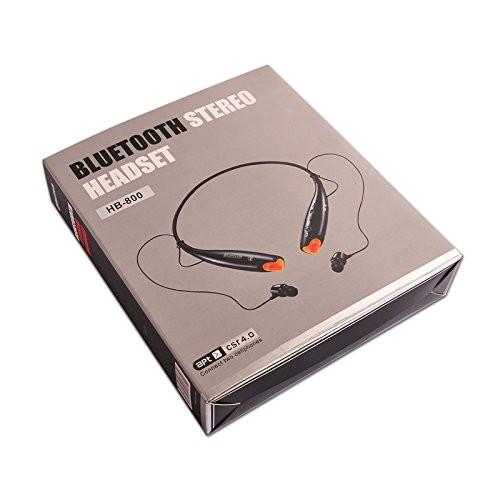 HB-800 Bluetooth earphone ブルートゥース イヤホン ブラック