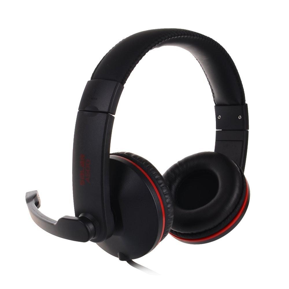 A500 PCゲームヘッドセット ヘッドホン headphones コンピューターゲーム ブラック