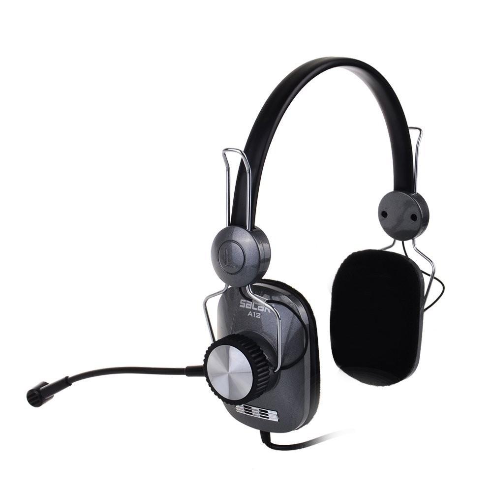 A12 PCゲームヘッドセット ヘッドホン headphones コンピューターゲーム ブラック