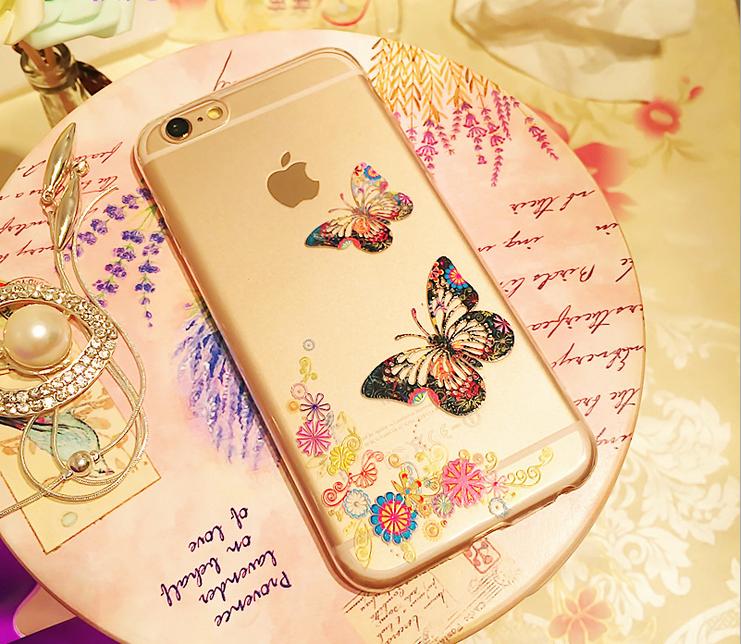 可愛いパンダ ゴージャス スマホケース iPhone6/6s 4s 5s