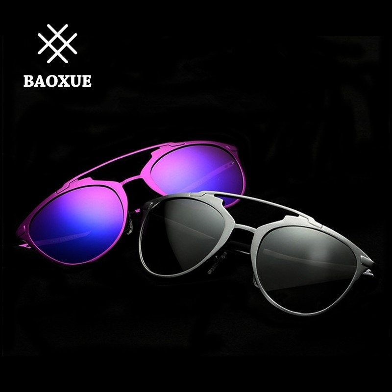 2016 BAOXUE ファッション カップル サングラス 無料宅配便 8596 Free Shipping