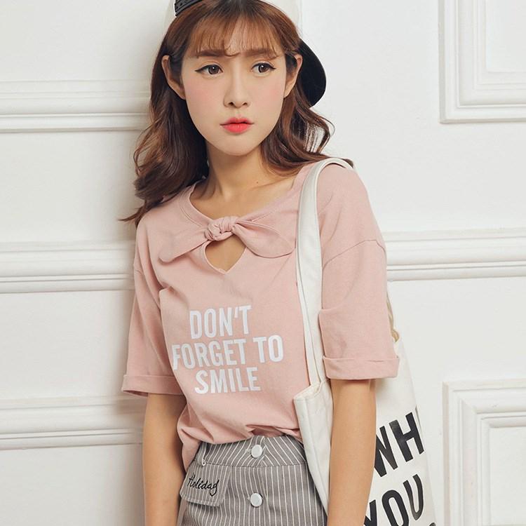 小さな新鮮な綿のTシャツ-3色入