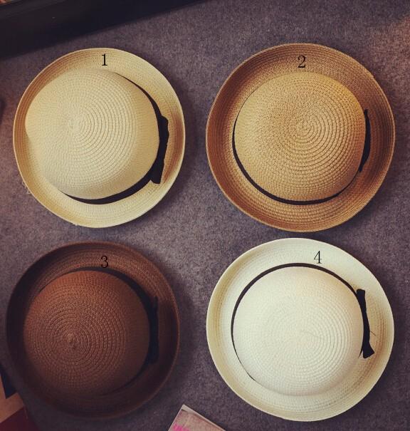 夏新作★韓国風★トッパー★麦わら帽子★日除け帽★全5色
