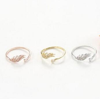 指輪/リング ウィングモチーフ  3色