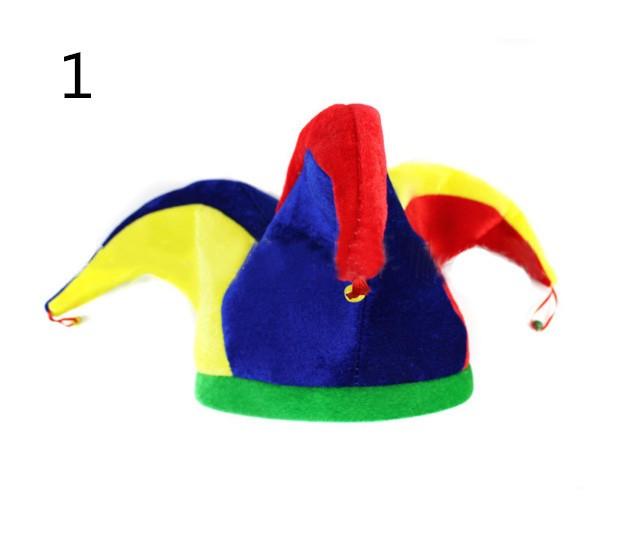 ハロウィン仮装 カルフールピエロの帽子 ♪ハロウィングッズ パーティーグッズ