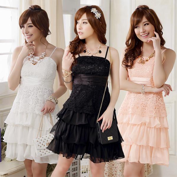 大きいサイズレディース レースキャミドレス Aラインワンピース 結婚式 パーティー 二次会 披露宴ドレス ☆ F LL   3L 4L J9909 party dress