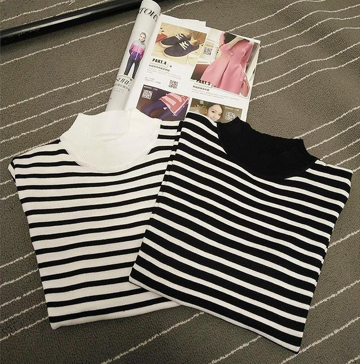 Tシャツ☆ホワイト/ブラック2色☆gm1031f-7gd【2017春夏商品】